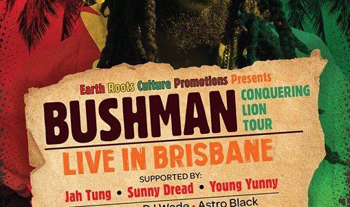 BUSHMAN CONQUERING LION TOUR